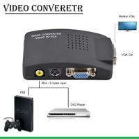 Converter RCA & S-Video to VGA
