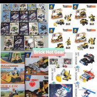Grosir Mainan Anak Hot Gear Hotgear Brick Souvenir Ultah bukan Lego