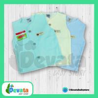 3 Buah Baju Bayi Lgn Buntung (Uscita) - Polos