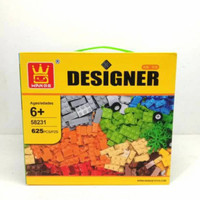 Mainan Anak Lego Classic Wange Designer 625 Pcs Blocks klasik