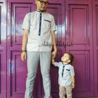 Koko Couple Ayah dan Anak - Baju Muslim Couple Keluarga
