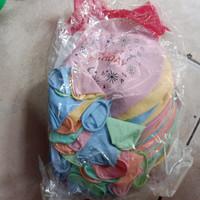 balon jumbo isi 50 pcs grosir balon latex besar