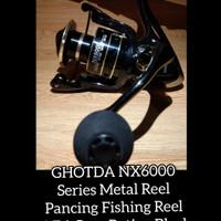 GOLDSHARKING NX6000 Metal Reel Pancing Fishing Reel 4.7:1 Gear Ratio - 6000