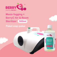 Mesin Fogging Berry C + Cairan Fog Room & Air Sterilizer BerryC 500ML