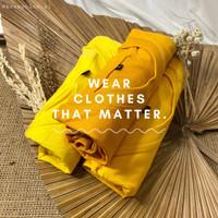 Kaos Polos Bandung Cotton Combed 24's || Kuning