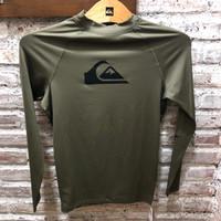 Baju Renang Quiksilver Orginal Product All time Ls Sh Gzh0 New