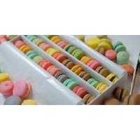 Baby Macaron (Macaroon) Box isi 27pcs / Cookies / Kue Kering