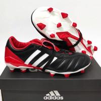 Sepatu Bola Adidas Predator Mania Remake Black Red Fg