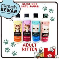 Shampo Starlight - Shampoo Anti Jamur & Anti Kutu Kucing - Sampo Hewan