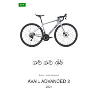ROADBIKE GIANT LIV AVAIL ADVANCED 2