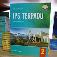 Buku IPS Terpadu Kelas 8 SMP Kurikulum 2013 Penerbit Yudhistira