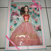 Mainan Anak Perempuan Cewek Boneka Bonekaan Barbie tongkat peri anting