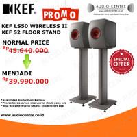 KEF LS50 Wireless II & KEF S2 Floor Stand Promo limited stock