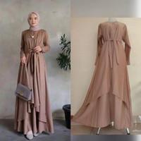 Baju Gamis Syari Wanita Terbaru Ukuran Jumbo Mewah Dan Elegan
