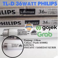 LAMPU TL 36w 36 w 36watt 36 watt PHILIPS / TL-D 36w PHILIPS 120cm