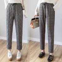 Celana Panjang Wanita Baggy Kotak Doty Pants Motif Kotak