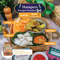 Eatever - Hampers Ketupat Standard 5 in 1 (Spesial Idul Fitri)