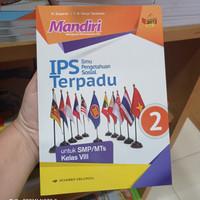 Buku Mandiri IPS Terpadu SMP Kelas 8 K13N Penerbit Erlangga
