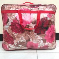 Sprei - Bed cover Belarose - King Size 180x200 motif bunga warna pink