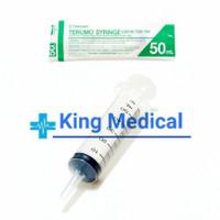 Terumo Syringe 50cc Spuit 50ml Lubang Tengah Catheter Tip ( Eceran )