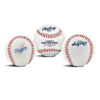 READY RAWLINGS OFFICIAL MLB TEAM LOGO BASEBALL BOLA BALL DODGERS