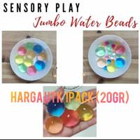 Jumbo water beads hidrogel orbeez hydrogel media tanam besar