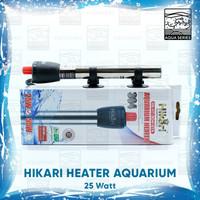 HEATER AQUARIUM 25 WATT HITER AQUARIUM WATER HEATER STAINLESS HIKARI