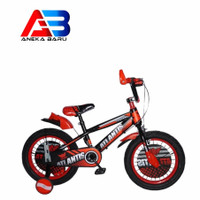 sepeda anak BMX 12 16 18 inch atlantis twins ban besar