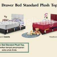 Guhdo Drawer Bed Standard Plush Top - 100x200 - Fullset Caserta Style - Fullset Saja, 90 x 200