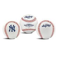 READY RAWLINGS OFFICIAL MLB TEAM LOGO BASEBALL BOLA BALL YANKEES