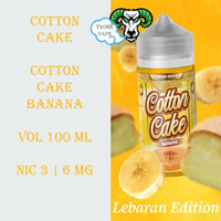 Liquid ELF Cotton Cake Banana 100ML Lebaran Edition by Elf Factory