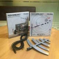 Antena TV Indoor/Outdoor Digital/Analog + Kabel 10m Toyosaki TYS-810