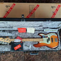 fender usa american elite precision bass ash
