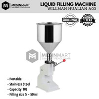 A03 Filling Machine Liquid Paste Cream Mesin Pengisi Cairan Krim Pasta