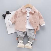 Setelan Kemeja anak Setelan Baju Resmi Anak Baju Pesta Anak Jas Anak - 6-12 bulan
