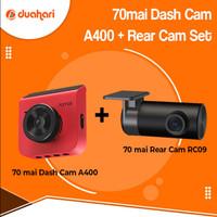 70mai Dash Cam A400 1440P Front Rear Camera Car Dashcam