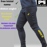 Celana Trakpants Assic Celana Olahraga Pria Trening Senam Wanita Murah