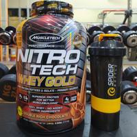 MuscleTech Nitro Tech Whey Gold 5.5 lb MT NitroTech 5,5 lbs isolate