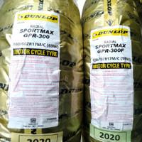 ban motor DUNLOP SPORTMAX GPR-300 uk 120/70-17 & 160/60-17 radial PO