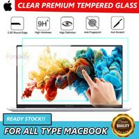 Macbook Air Pro 11 12 13 15 16 Retina Tempered Glass Anti Gores Clear