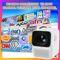 Wanbo T2 Max Projector Global Ver 1080p 4K Proyektor Mini Portable LED
