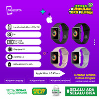Apple watch series 3 42 mm warna Grey Garansi Resmi Tam/ibox/Ses
