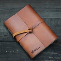 Custom Agenda Kulit/Buku Cover Kulit untuk Suvenir - Basic PRO