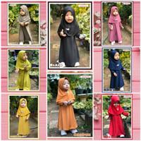 Baju Muslim Bayi dan Anak Perempuan / Baju gamis anak cewek