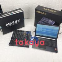 mixer ashley LM6 / LM 6 usb bluetooth rec soundcard hardcase original