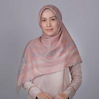 Zoya Lavatera Scarf - Hijab Kerudung Segi Empat