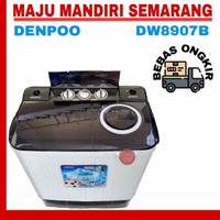 MESIN CUCI 2 TABUNG DENPOO DW 8907 B ( 8 KG )