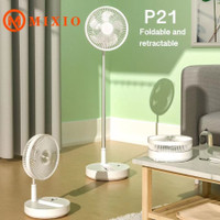 P20 Kipas Angin Lipat JUMBO Fan Portable Remote Control Auto Swing 120 - P21 7200MAH
