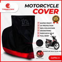Sarung Motor PREMIUM AVARON SUPRA X/ Penutup Pelindung Body Cover