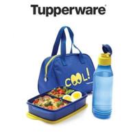 Tempat Makan Tas Bekal Tupperware Cool Teen Lunch Box (tas resleting)